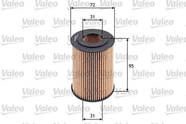 Filtre a huile VALEO 586548 (X1)