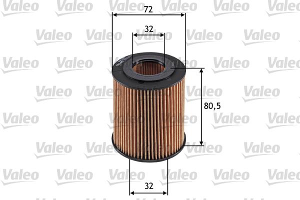 Filtre a huile VALEO 586551 (X1)