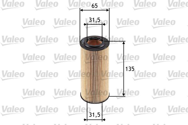 Filtre a huile VALEO 586553 (X1)