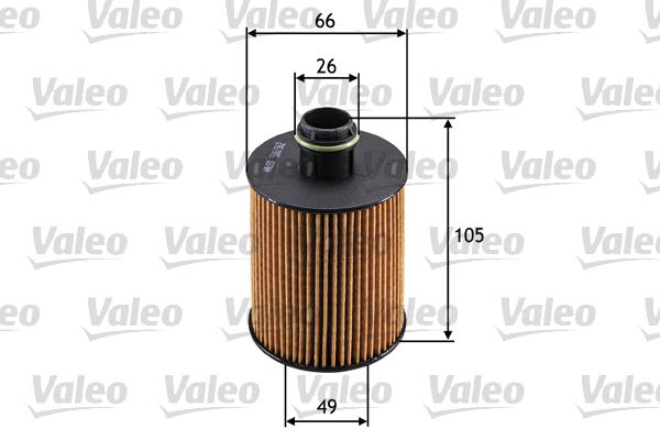 Filtre a huile VALEO 586562 (X1)