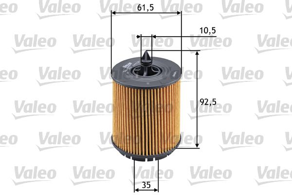 Filtre a huile VALEO 586563 (X1)