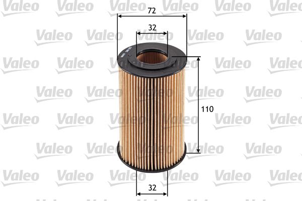 Filtre a huile VALEO 586565 (X1)