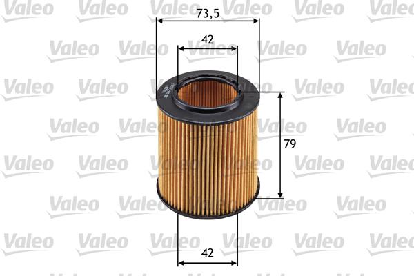 Filtre a huile VALEO 586566 (X1)