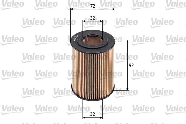 Filtre a huile VALEO 586568 (X1)