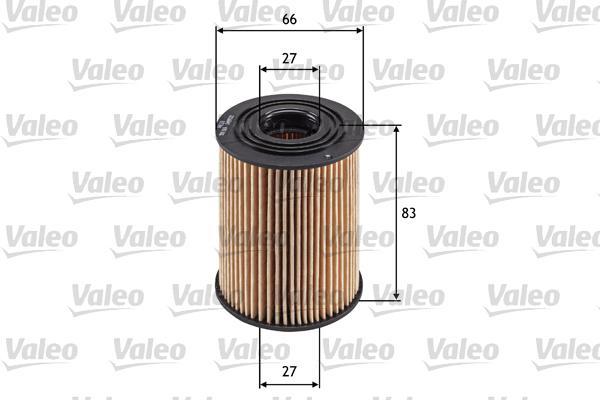 Filtre a huile VALEO 586569 (X1)