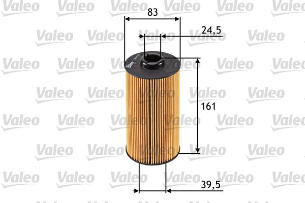 Filtre a huile VALEO 586570 (X1)