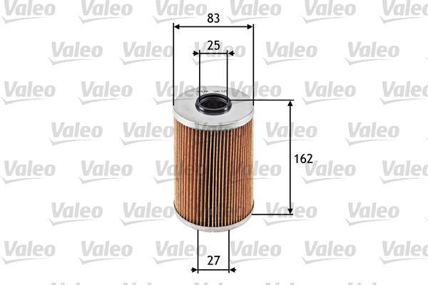Filtre a huile VALEO 586571 (X1)