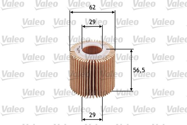 Filtre a huile VALEO 586581 (X1)