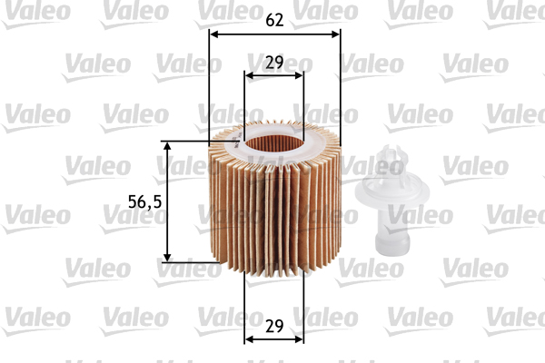 Filtre a huile VALEO 586583 (X1)