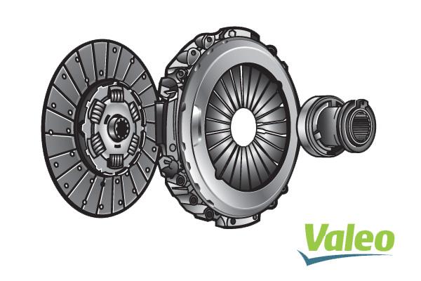 Kit d'embrayage VALEO 009141 (X1)
