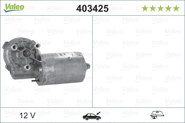Moteur essuie glace VALEO 403425 (X1)