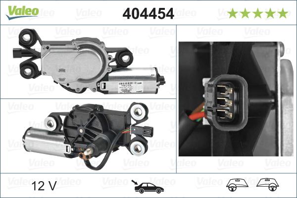 Moteur essuie glace VALEO 404454 (X1)