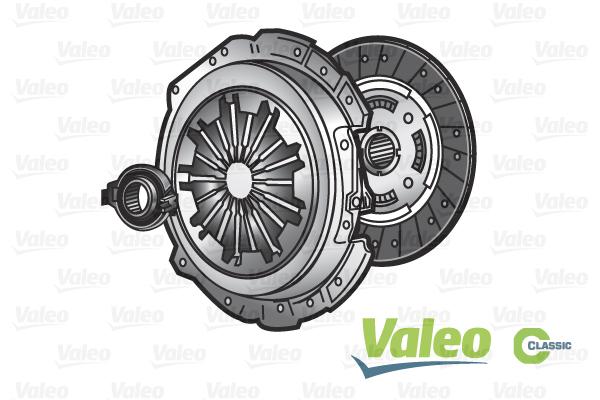 Kit d'embrayage VALEO 786042 (X1)