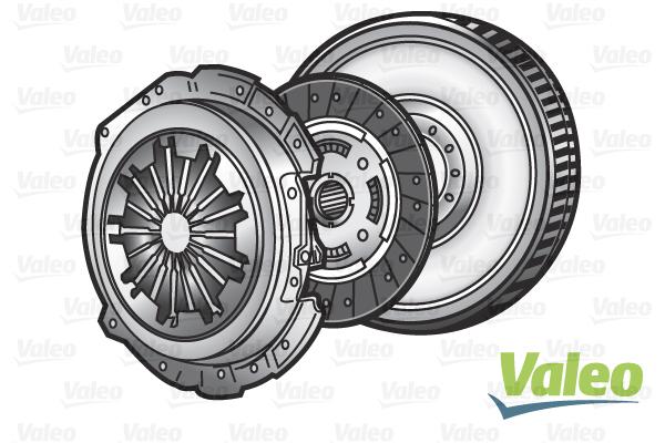 Embrayage, boite de vitesse, cardans VALEO 835022 (X1)