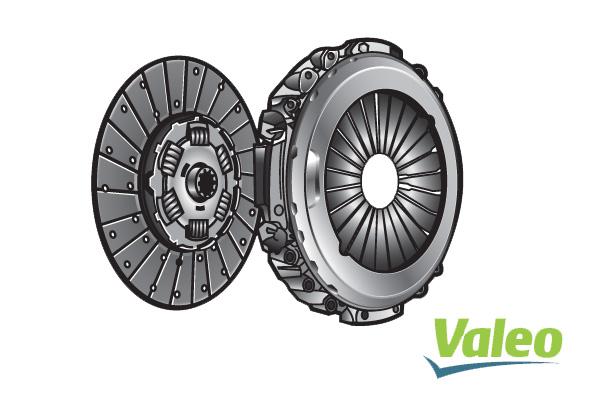 Kit d'embrayage VALEO 827450 (X1)