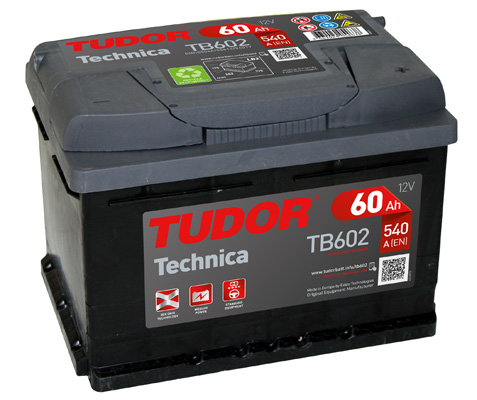Batterie TUDOR TB602 (X1)