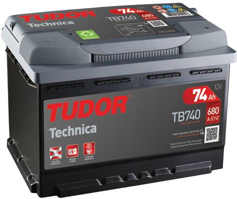 Batterie TUDOR TB740 (X1)