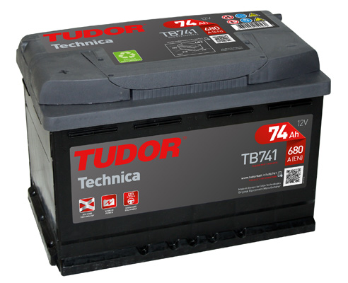 Batterie TUDOR TB741 (X1)
