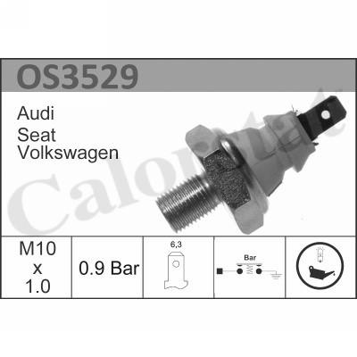 Capteur, pression d'huile CALORSTAT BY VERNET OS3529 (X1)