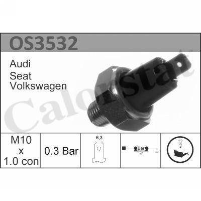 Capteur, pression d'huile CALORSTAT BY VERNET OS3532 (X1)