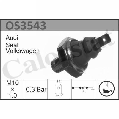 Capteur, pression d'huile CALORSTAT BY VERNET OS3543 (X1)