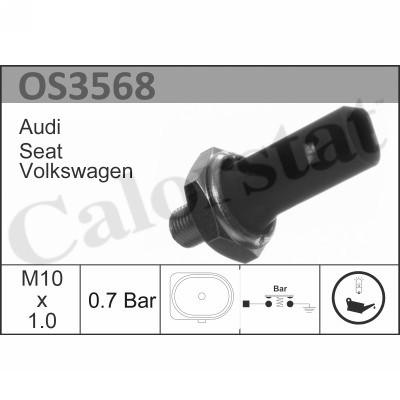 Capteur, pression d'huile CALORSTAT BY VERNET OS3568 (X1)