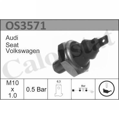 Capteur, pression d'huile CALORSTAT BY VERNET OS3571 (X1)
