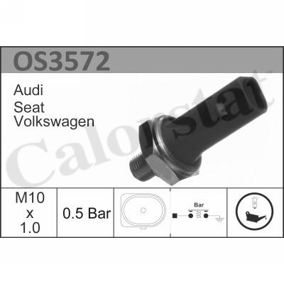 Capteur, pression d'huile CALORSTAT BY VERNET OS3572 (X1)