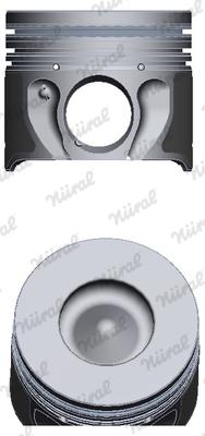 Piston moteur NÜRAL 87-140800-10 (X1)