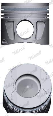 Piston moteur NÜRAL 87-427500-00 (X1)