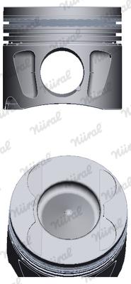 Piston moteur NÜRAL 87-427507-00 (X1)