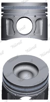 Piston moteur NÜRAL 87-427700-10 (X1)