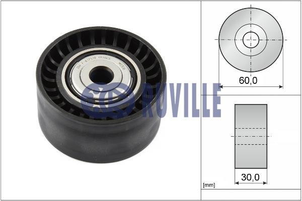 Galet enrouleur accessoires RUVILLE 55619 (X1)