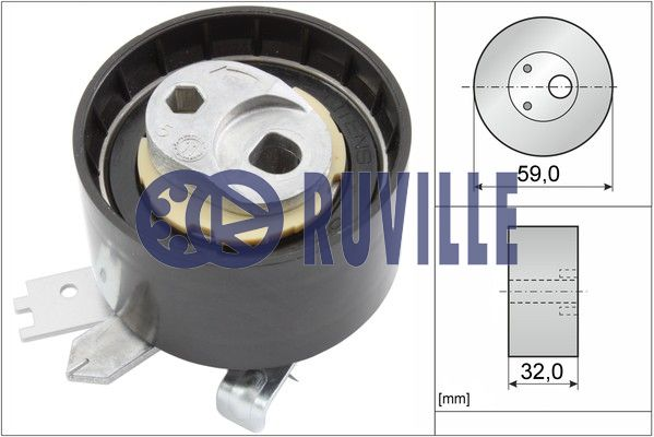 Galet tendeur de distribution RUVILLE 55641 (X1)