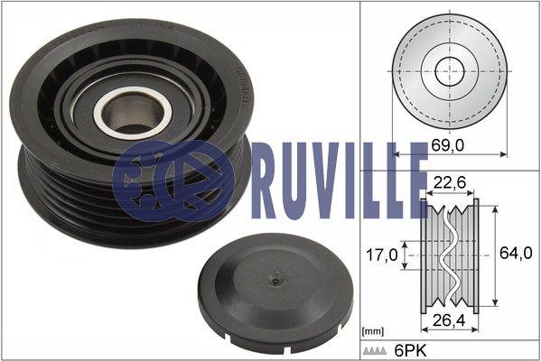 Galet enrouleur accessoires RUVILLE 55700 (X1)