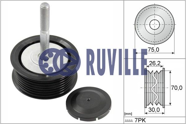 Galet enrouleur accessoires RUVILLE 56726 (X1)