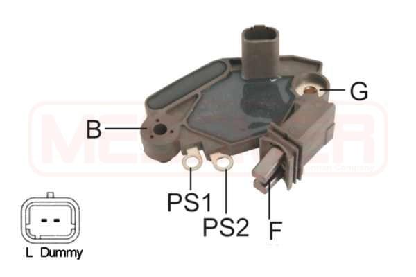 Regulateur d'alternateur ERA 215842 (X1)