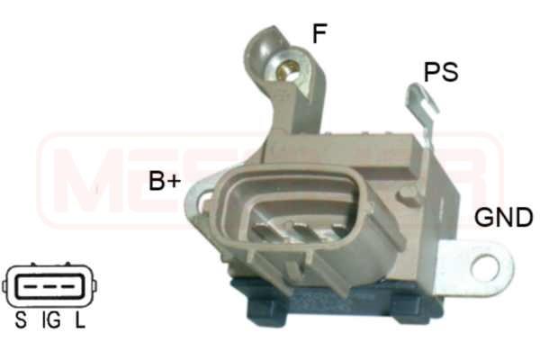 Regulateur d'alternateur ERA 216036 (X1)