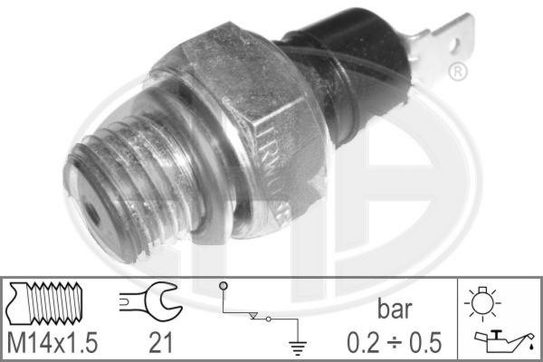 Capteur, pression d'huile ERA 330000 (X1)