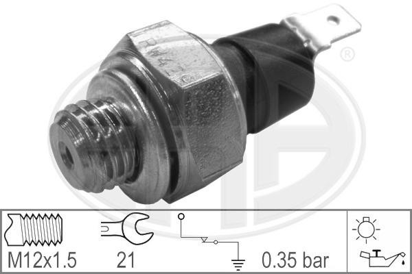 Capteur, pression d'huile ERA 330001 (X1)