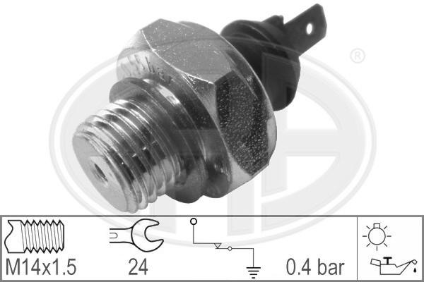 Capteur, pression d'huile ERA 330011 (X1)