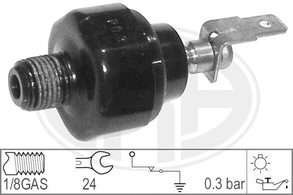 Capteur, pression d'huile ERA 330015 (X1)