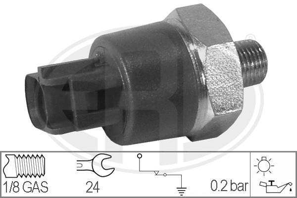 Capteur, pression d'huile ERA 330022 (X1)