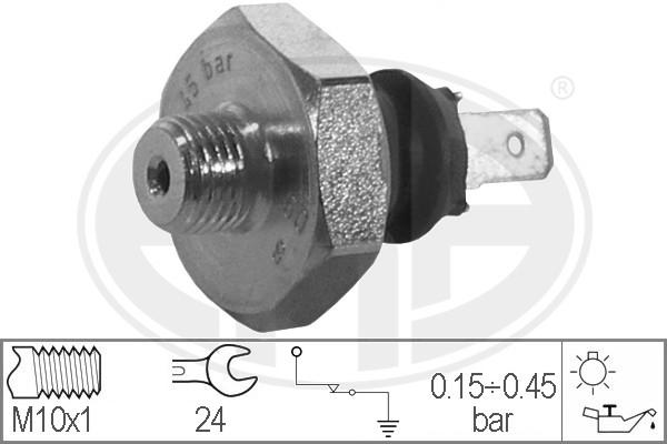 Capteur, pression d'huile ERA 330317 (X1)