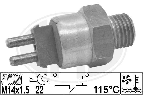 Interrupteur de temperature, ventilateur de radiateur ERA 330846 (X1)