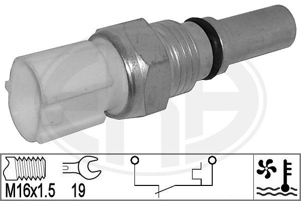 Interrupteur de temperature, ventilateur de radiateur ERA 330885 (X1)