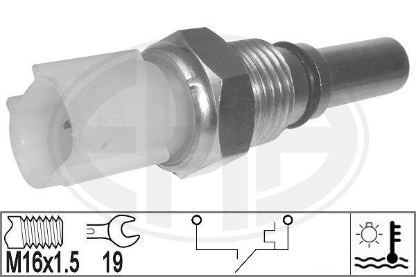 Interrupteur de temperature, ventilateur de radiateur ERA 330886 (X1)