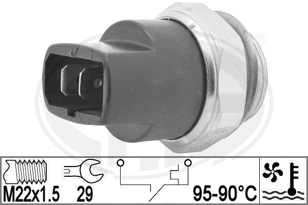 Interrupteur de temperature, ventilateur de radiateur ERA 330962 (X1)