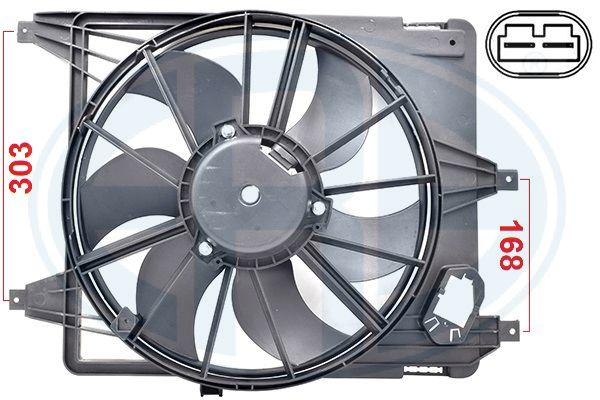 Ventilateur de radiateur ERA 352086 (X1)