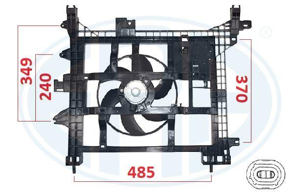 Ventilateur de radiateur ERA 352104 (X1)